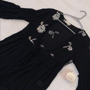 Altar'd state blouse cardigan